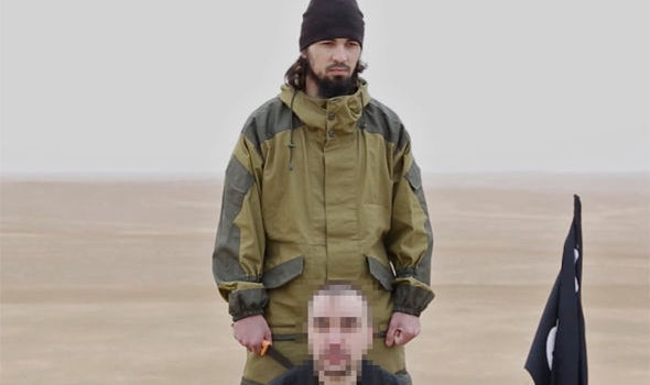 ISIS claims it has beheaded a Russian spy captured in Syria in a propaganda video