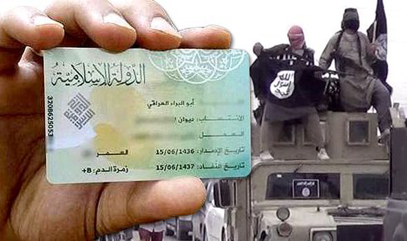 Islamic State Brings Out ID Cards For Jihadists World