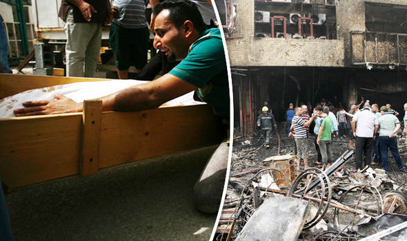 The death toll is expected to rise after blasts