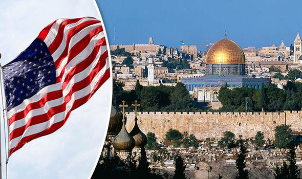 Image result for US embassy in Jerusalem
