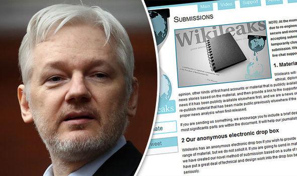 Julian Assange WikiLeaks Ecuador embassy