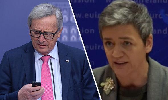 Juncker and Vestager