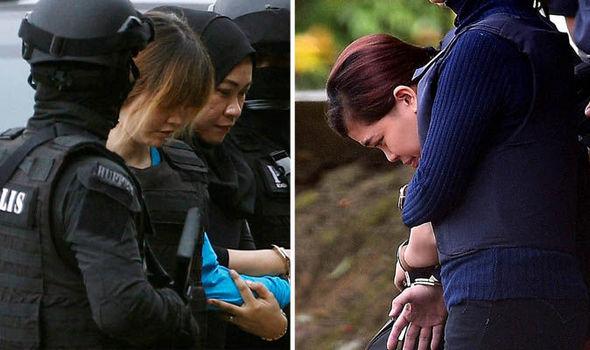 Doan Thi Huong and Siti Aishah at court