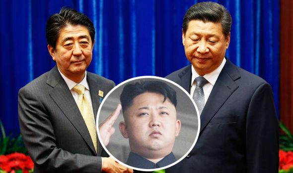 Kim Jong-un Japan China