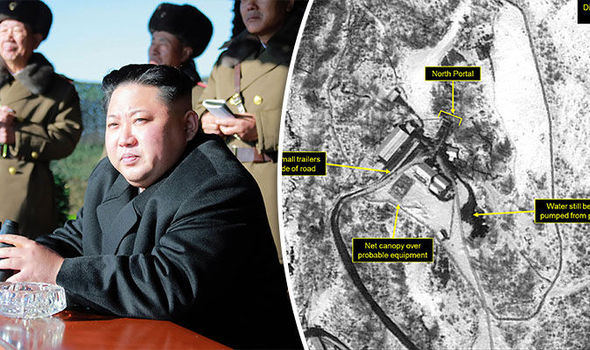 Satellite images show increased activity at North Korea's nuclear site