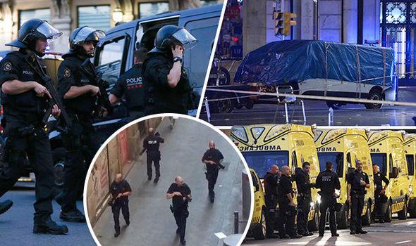 Terror attack on Las Ramblas, Barcelona, many hurt