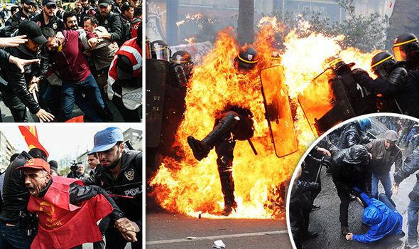 VIOLENCE ACROSS EUROPE