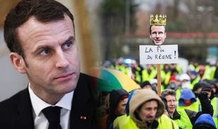 Bildergebnis für macron's nightmare about yellow west