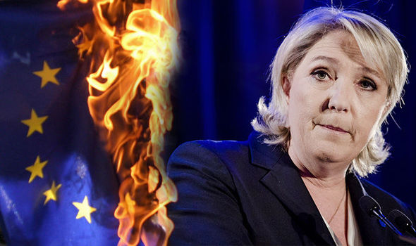 Marine Le Pen could destroy the EU, political commentators have predicted