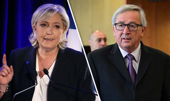 Marine Le Pen has hit back at claims she misspent EU funds