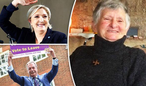 Marine Le Pen voter