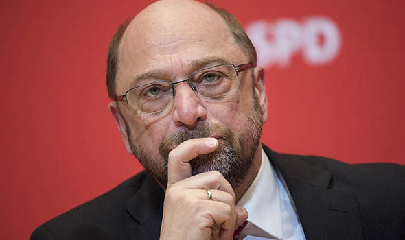 Martin Schulz, the leader of the SPD