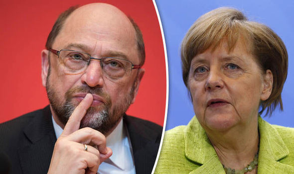 Schuls and Merkel want to be Chancellor of Germany