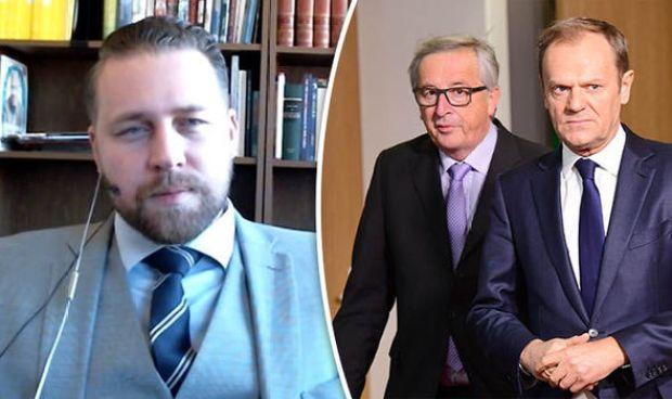 Mattias Karlsson, Juncker and Tusk