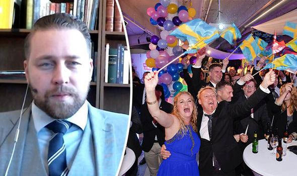 Mattias Karlsson and Sweden Democrats