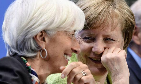 Merkel Lagarde