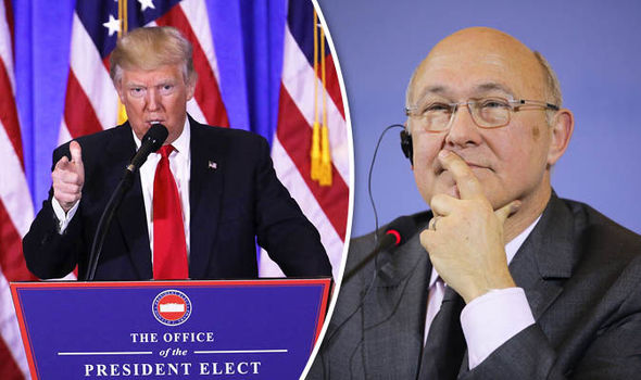 Michael Sapin and Donald Trump