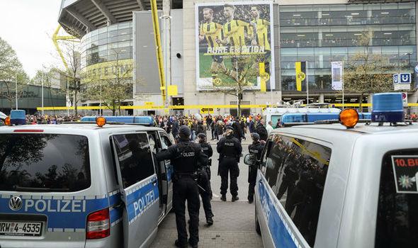 Borussia Dortmund stadium scene