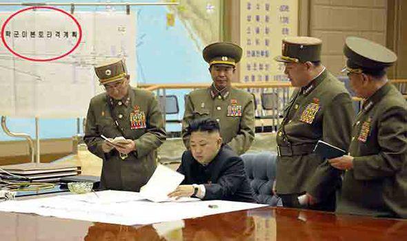 North Korea attack USA