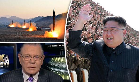 North Korea Kim Jong-un and Jack Keane