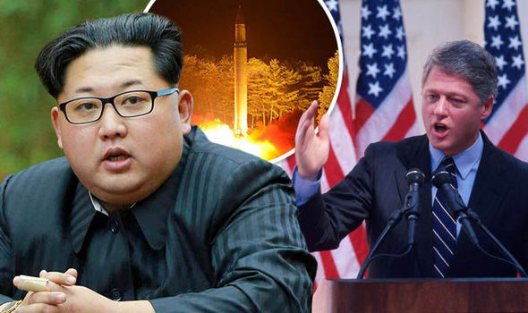 north korea US war kim jong un bill clinton