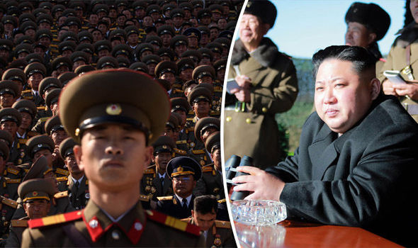 North Korean troops have been practicing their combat skills as tensions mount