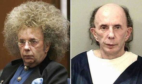 Phil Spector Prison Mug Shots Show Him Frail And Balding