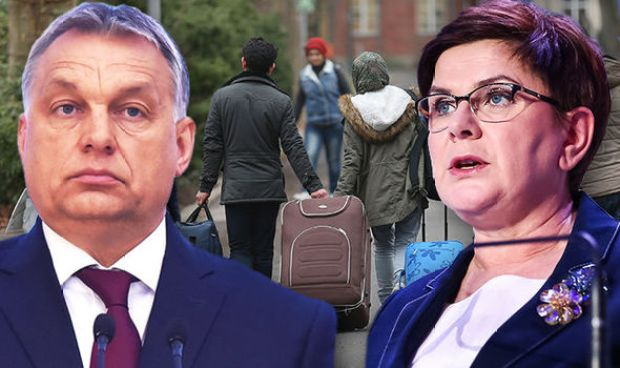 Polish leader Beata Szydlo & Hungarian PM Orban have spoken out against the migrant quotas