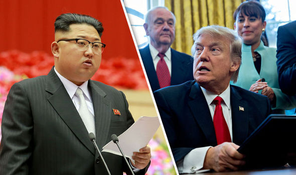 President Trump's state department urged Kim Jong-un's state to stop fuelling tensions