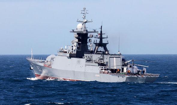 Putin's warship