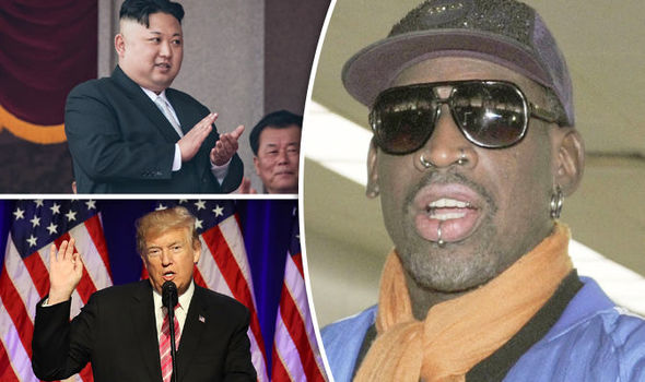 Rodman, US, North Korea
