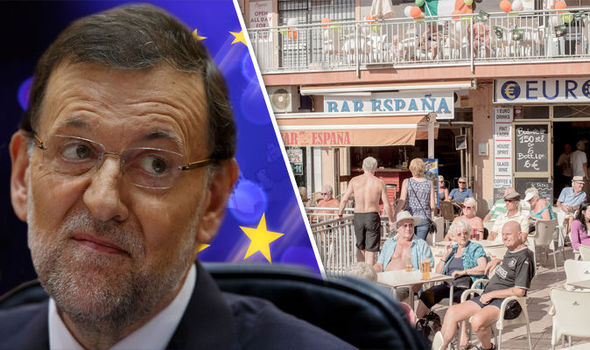 The Spanish PM is concerned about the effects of Brexit on the country's tourism