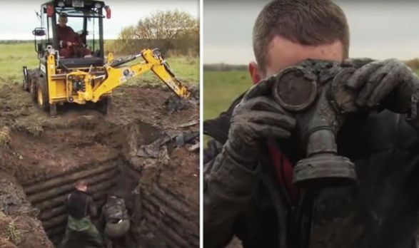 The team made an astonishing find in Latvia