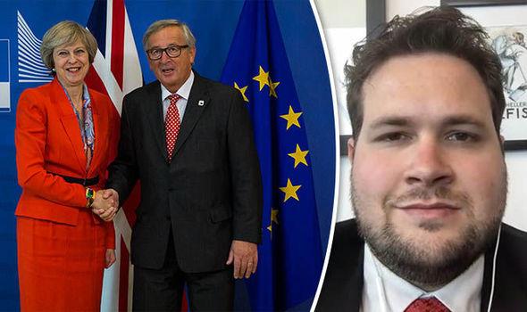 Theresa May, Juncker, Anders Vistisen