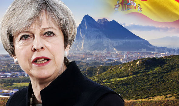 Theresa May and Gibraltar