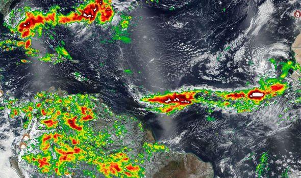 tropical storm dorian track