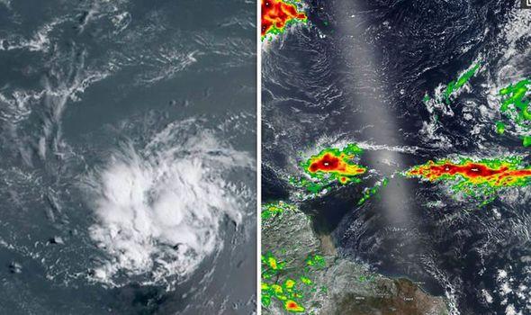 tropical storm dorian path