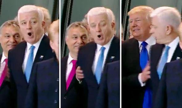 Donald Trump and Duško Marković