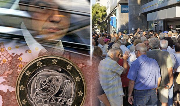 Greek citizens were desperate to get their cash out back in 2015