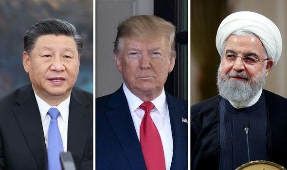 US Election news: Xi Jinping, Donald Trump and Hassan Rouhani