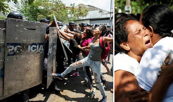 Venezuela prison riot At least 68 dead as devastating fires break out at police station  World
