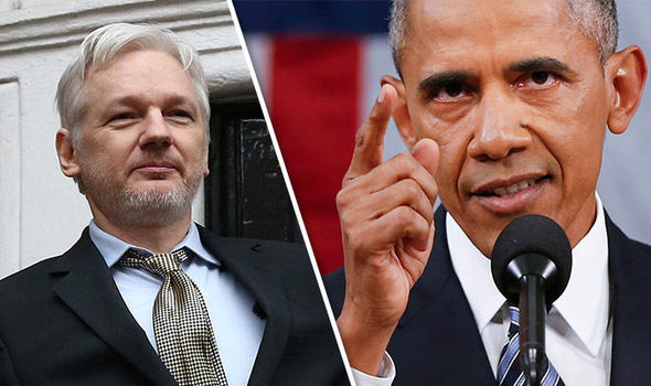 WikiLeaks extradition Julian Assange Obama Manning