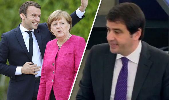 Brexit news Angela Merkel and Emmanuel Macron EU