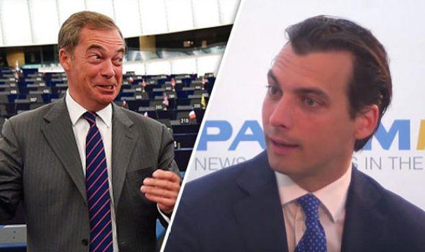 Nigel Farage and Dutch MP