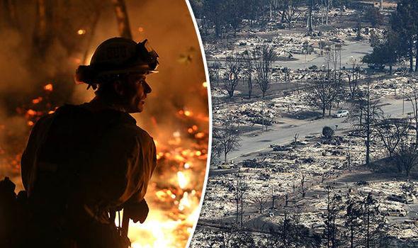 California fires: Wildfires in California