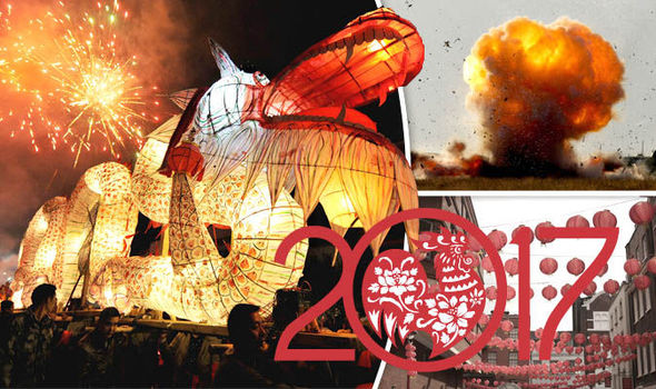 Chinese New Year: Year of the Rooster celebrations