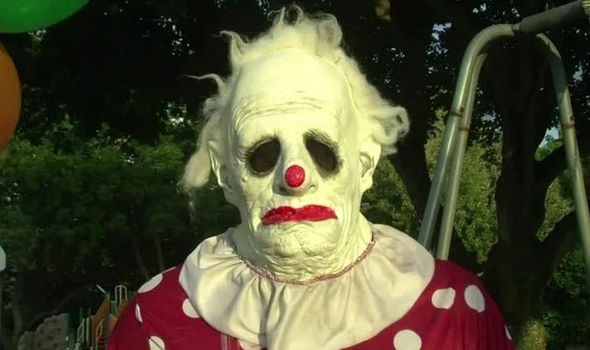 truly terrifying clown available
