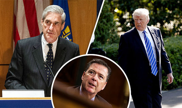 Image result for picture of trump and mueller together