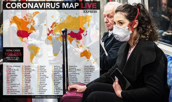 Coronavirus map LIVE: UK cases soar to 168 in major spike – as ...