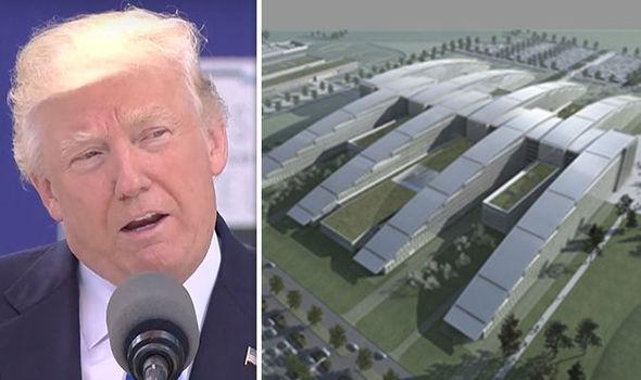 Donald Trump on Nato building